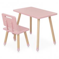 Столик со стулом Vivast M 4256 Square pink