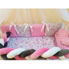 Постельный комплект ТМ Bonna Koss Балерина Розовый