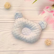 Ортопедическая подушка для новорожденных ТМ Elliz Минки Голуб