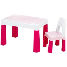 Стол и стул Tega Multifun Eco MF-004 123 Light pink