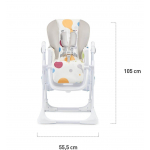 Стульчик для кормления Kinderkraft Yummy Multi (KKKYUMMMUL0000)