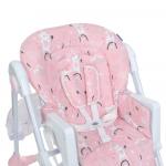 Стульчик для кормления Bambi M 3233 Rabbit Girl Pink
