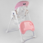 Стульчик для кормления Toti W-80108 Светло-розовый