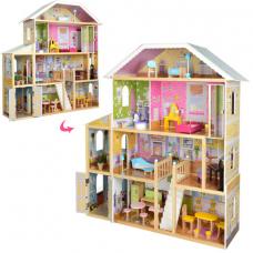 Кукольный игровой дом MD 2675