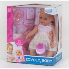 Кукла с аксессуарами (8040-12) (8 функций)
