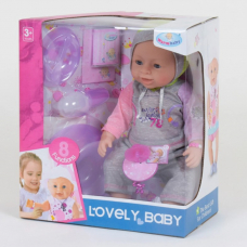 Кукла с аксессуарами (8040-445 B) (8 функций)