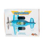 Игрушечный самолет Крутись пропеллер Fat Brain Toys Playviator Голубой (F2262ML)