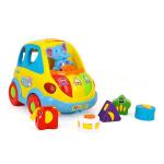 Музыкальная машинка-сортер Hola Toys Умный автобус (896)