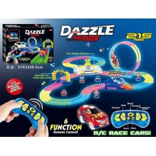 Автотрек на радиоуправлении Dazzle Tracks (215 деталей)