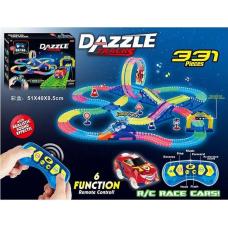 Автотрек на радиоуправлении Dazzle Tracks (331 деталь)