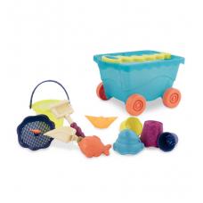 Набор для игры с песком и водой - Тележка Море Battat (BX1596