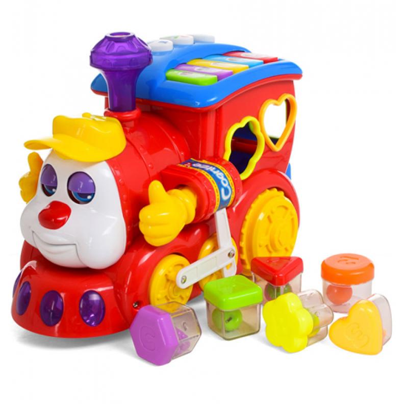 Развивающая игрушка-сортер Huile Toys Паровозик (556)