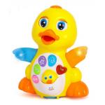 Развивающая игрушка Hola Желтый утенок (808)