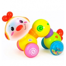 Развивающая игрушка Huile Toys Музыкальная гусеничка (997)