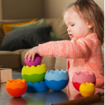 Пирамидка-балансир Fat Brain Toys Tobbles Neo (F070ML)