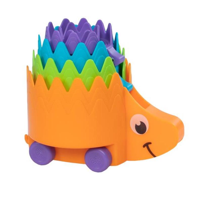 Пирамидка-каталка Ежики Fat Brain Toys Hiding Hedgehogs (F223ML)