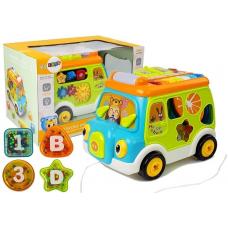 Развивающая игрушка-сортер Автобус (6313)