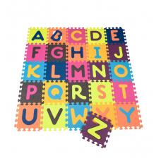 Детский развивающий коврик-пазл - ABC (140х140 см, 26 квадрат