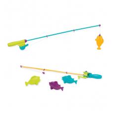 Игровой набор - МАГНИТНАЯ РЫБАЛКА (2 удочки, 4 рыбки)