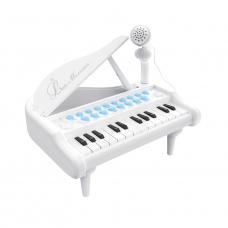 Детское пианино синтезатор Baoli Маленький музикант с микрофо