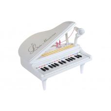 Детское пианино синтезатор Baoli Маленький музыкант с микрофо