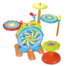 Музыкальная игрушка Hola Барабанная установка (666)