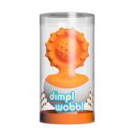 Прорезыватель-неваляшка Fat Brain Toys dimpl wobl Оранжевый (F2172ML)