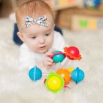 Игрушка-прорезыватель Сенсорные шары Fat Brain Toys Wimzle (F136ML)