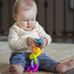 Набор прорезывателей Гибкие колечки Fat Brain Toys pipSquigz Ringlets (F250ML)