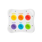 Игрушка сенсорная Цвет Форма Название Fat Brain Toys Dimpl Duo Брайль (F208EN)
