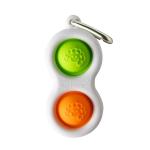 Тактильный антистресс-брелок Кнопки Fat Brain Toys Simpl Dimpl 4 цвета в ассорт. (F2111ML)