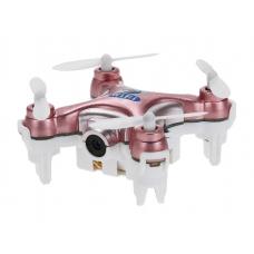 Квадрокоптер с камерой Wi-Fi Cheerson CX-10W нано Розовый