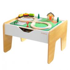 Деревянный игровой стол с доской для конструктора Kidkraft (1