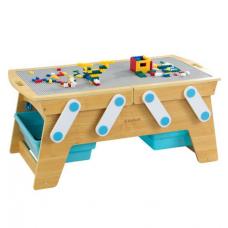Деревянный игровой стол для игры с лего Kidkraft Building Bri