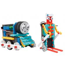Конструктор STEM с пультом HIQ R722 4-в-1 (паровозик, машинка