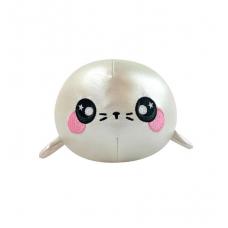 Ароматная мягкая игрушка SQUEEZAMALS S3 – ТЮЛЕНЬ СНЕЖОК (9 cm