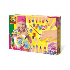 Игровой набор для юного нейл-арт мастера - МОДНИЦА (декор для
