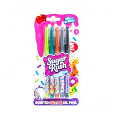 Набор ароматных гелевых ручек серии Sugar Rush - ЯРКИЙ БЛЕСК