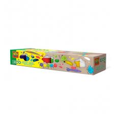 Гуашь ЯРКИЕ ЦВЕТА (6 цветов, в пластиковых баночках)