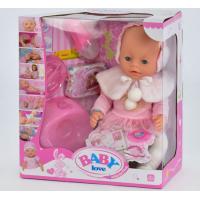 Кукла с аксессуарами Baby Born Baby love (8 функций) (ВL 010 A)
