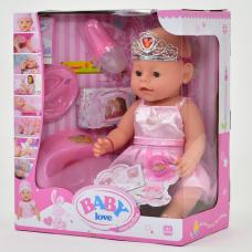 Кукла с аксессуарами Baby Born Baby love (8 функций) (BL 018