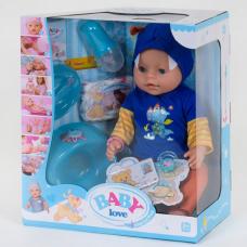 Кукла с аксессуарами Baby Born Baby love (8 функций) (BL 034