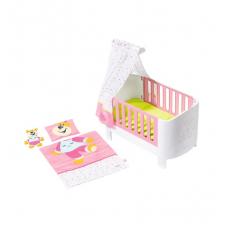 Кроватка для куклы BABY BORN - СПОКОЙНОЙ НОЧИ (звук, с игрушк