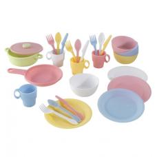 Набор игрушечной посуды Kidkraft (63027)