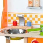 Детская кухня Viga Toys из дерева с посудой (50957FSC)