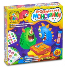 Настольная игра Fun game Розумні монстрики (7329)