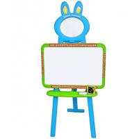 Детский мольберт 3 в 1 Limo Toy 0703 (3 языка) Голубой с зеленым