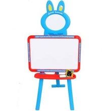Детский мольберт 3 в 1 Limo Toy 0703 (3 языка) Голубой с крас