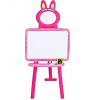 Детский мольберт 3 в 1 Limo Toy 0703 (3 языка) Розовый