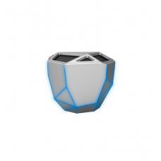 Акустическая система XOOPAR-GEO SPEAKER Серебряный с синим